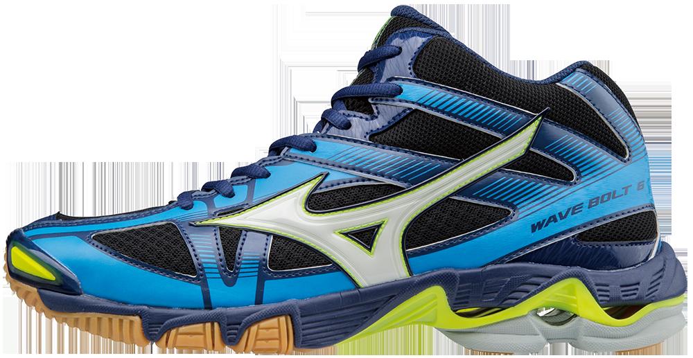 Mizuno Wave Bolt 6 Mid Blue - 42,5