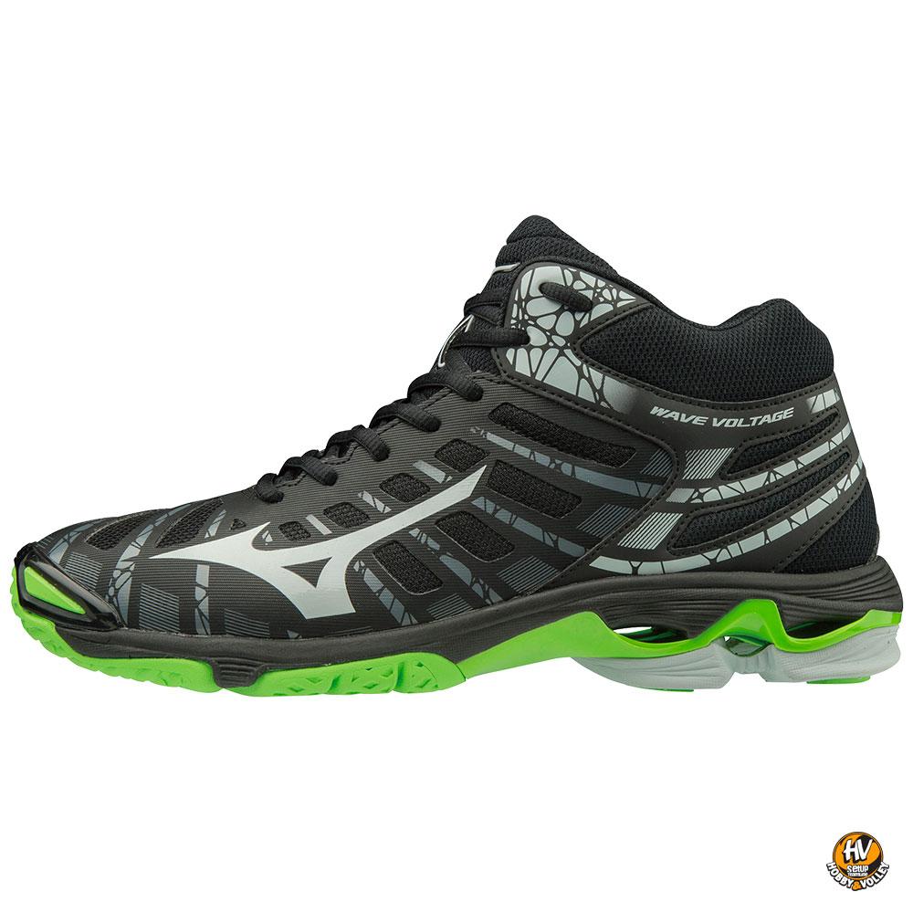 mizuno wave hurricane mid bianco nero rosso scarpe scarpe